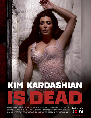 Kim Kardashian's Digital Death