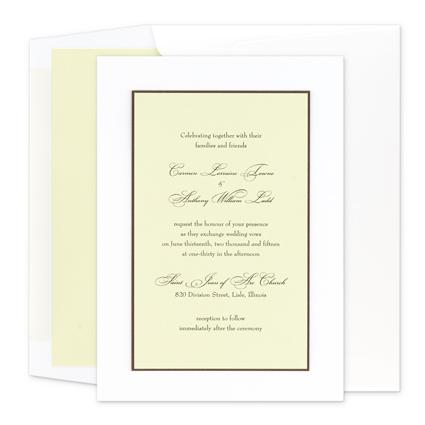 News Release Lovie S Letter Paper Co Offers Wedding Invitation