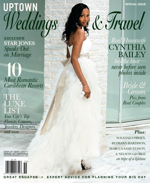 Cynthia Bailey covers UPTOWN Weddings & Travel